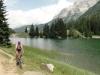 Wiedermal ein einsamer See. Diesmal in der Nähe von Madonna di Campiglio.
